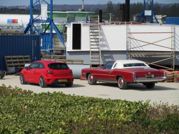 2016 SEAT Ibiza 1.8 TSI Cupra and 1978 Cadillac Eldorado Biarritz