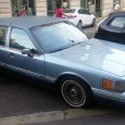 Roshake found this Lincoln Town Car sitting at the curb in Budapest. My eyes gravitated to its rather well-padded vinyl top, including extensions on the tops of the doors. Now […]