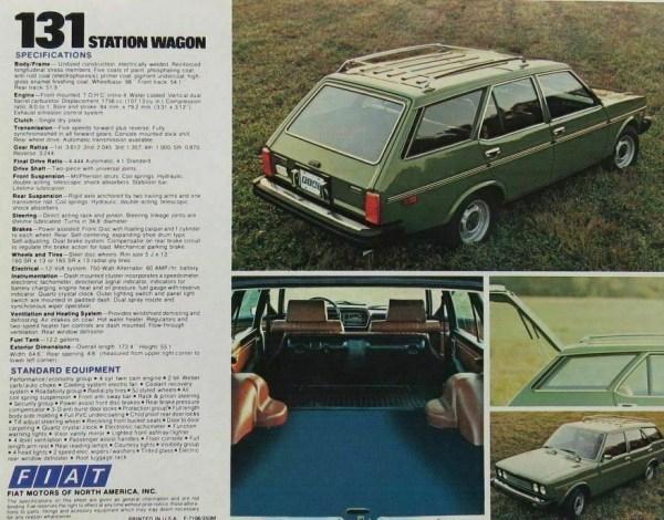 1976 Fiat 131S Mirafiori Station Wagon