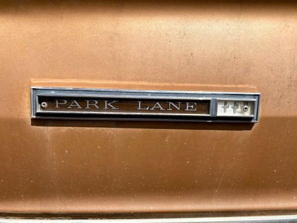 1966 Mercury Park Lane Four Door Hardtop