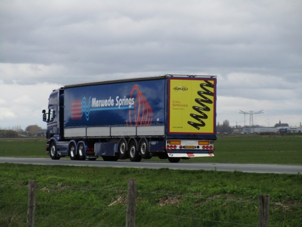 2011 Scania R730 6x2 - Pacton semi-trailer
