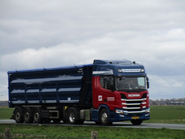2018 Scania R450 4x2 - dump semi-trailer