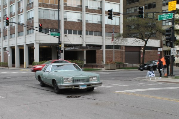 1977 Oldsmobile Toronado Brougham. Edgewater, Chicago, Illinois. Saturday, May 8, 2021.