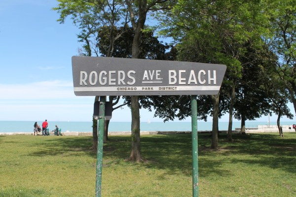 Rogers Beach. Rogers Park, Chicago, Illinois. Sunday, May 30, 2021.