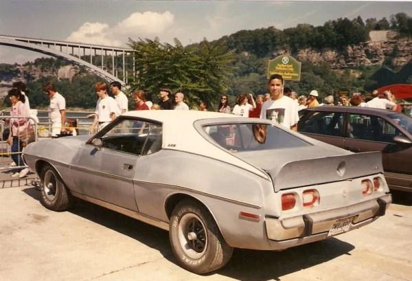 1973 or '74 AMC Javelin. Niagara Falls. Summer 1990.