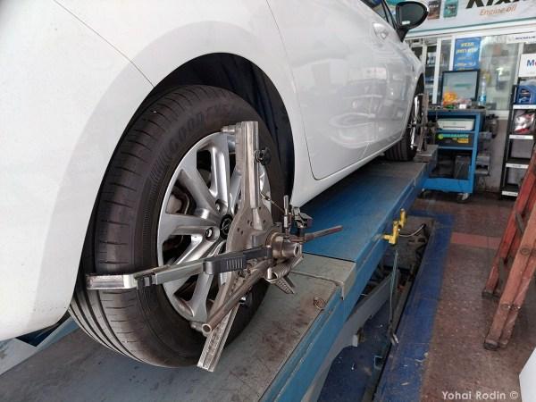 opel astra wheels alignment