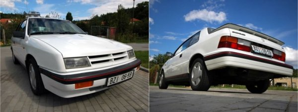 Chrysler ES, front and rear