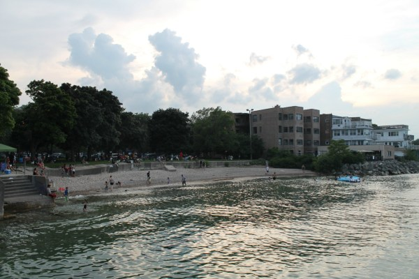 Rogers Beach. Rogers Park, Chicago, Illinois. Wednesday, July 4th, 2018.