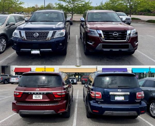 2020 vs 2021 Nissan Armada Platinum 4WD Auto