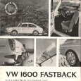 It took some five years for the VW Type 3 (1500/1600) to make it to America, at least officially. Why? The 1500 was badly needed for VW to stay competitive […]