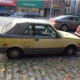 (first posted 6/8/2015) When I stumbled across this sunshine yellow Yugo Cabriolet next to Van Cortlandt Park in the Bronx, I didn't realize I was looking at possibly the rarest […]