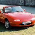 There must be a special place in heaven for first generation Miatas. Particularly the red ones, with BBS alloy wheels, a Momo steering wheel and a free flow exhaust. […]