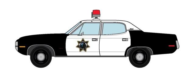 1972 AMC Matador Emergency! Police Department
