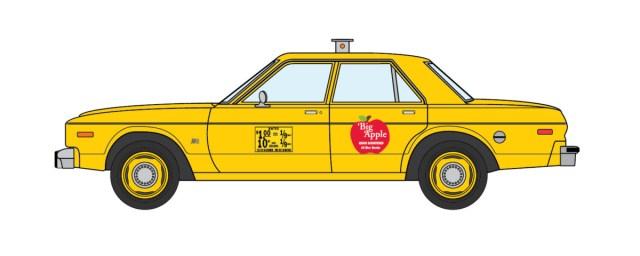 1977 Dodge Aspen NYC Taxi