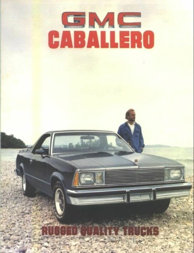 1981 GMC Caballero brochure cover photo, as sourced from the internet