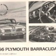 This review is something of a follow-up to an earlier review that R&T did with a 1965 Barracuda S. That one lacked the disc brakes that the '66 had. But […]