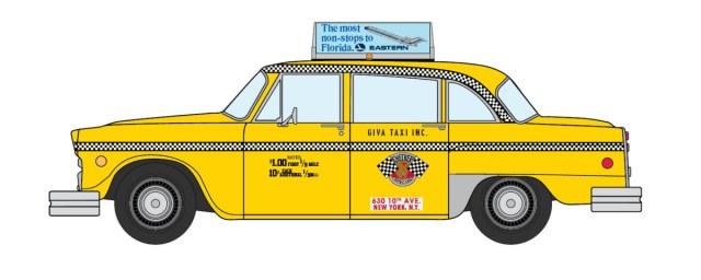 1980s Checker NYC Taxi