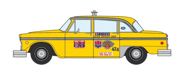 Late 1970s Checker NYC Taxi
