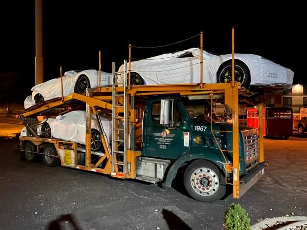 Sterling Corvette Carrier