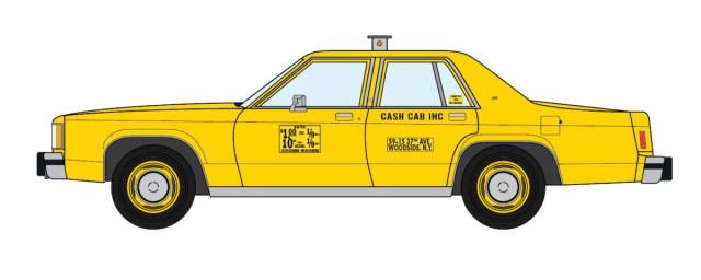 1980 Ford LTD NYC Taxi