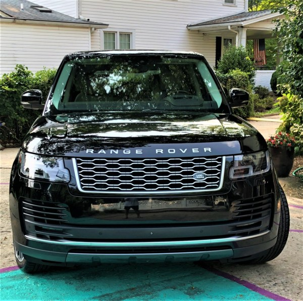 2018 Range Rover front