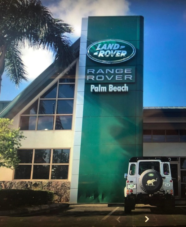 Range Rover Palm Beach Florida dealer