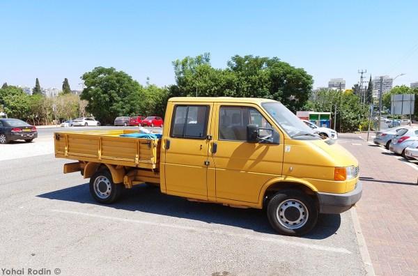 1992 Yellow VW T3 Pickup