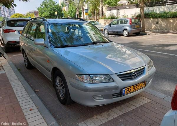 2000 Grey Mazda 626