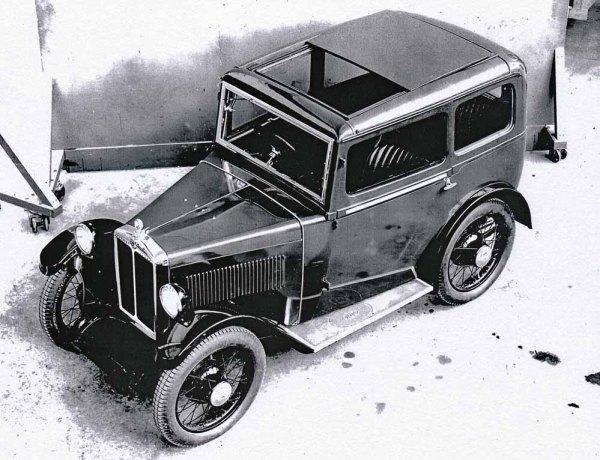 1932 Morris Minor Sliding Head Saloon
