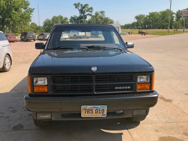 1989 Dodge Dakota Sport Convertible front