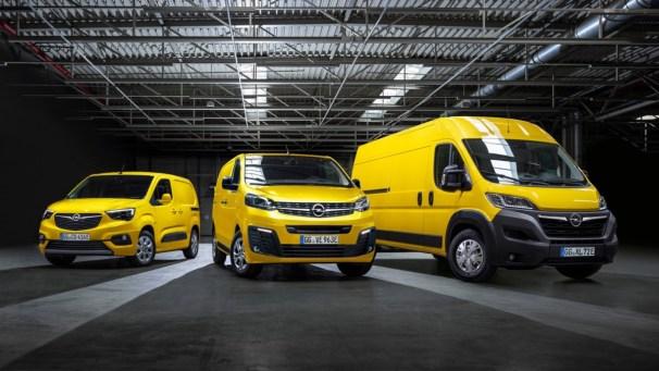 2021 Opel panel vans