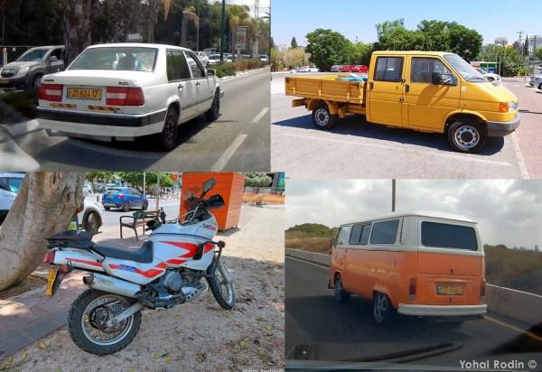 Volvo 940, VW T4, Yamaha Super Tenere, VW T2
