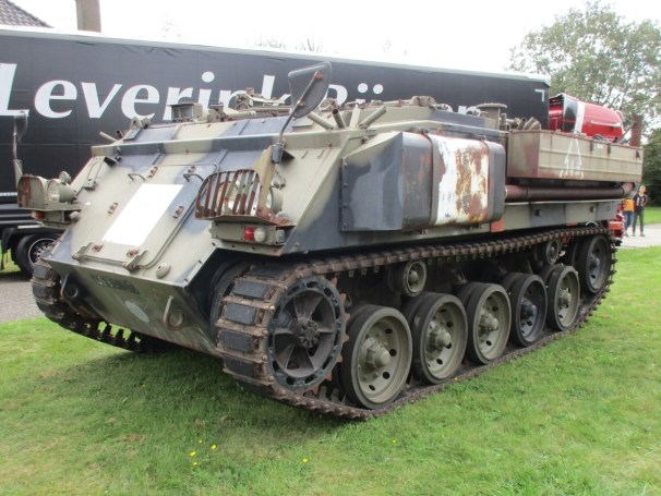 Tracked military vehicle - 1