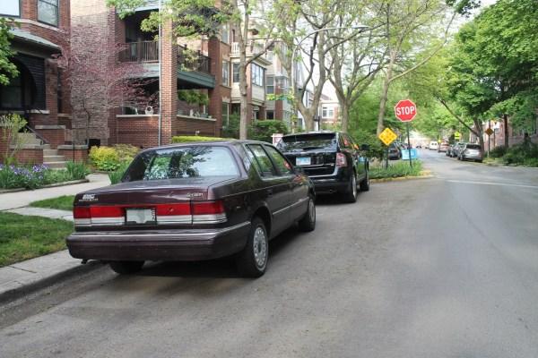 c. 1993 Plymouth Acclaim. Edgewater Glen, Chicago, Illinois. Monday, May 17, 2021.