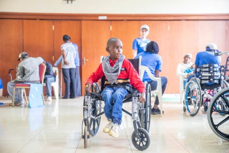 Wheelchair for Africa Cure Kenya