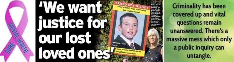 ESSEX FAMILIES CALL FOR A PUBLIC INQUIRY