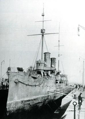 Le croiseur Akashi