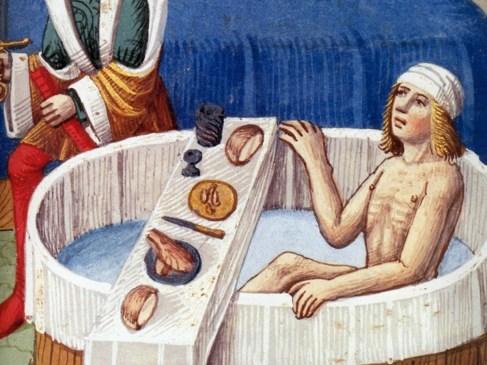 L'hygiène au Moyen-Âge : à quoi bon se laver quand on sent si bon ?