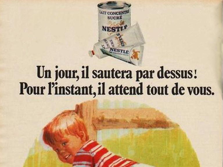 Nestlé, maître de la farine lactée