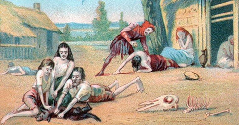 Récit de cannibalisme en France lors de la grande famine du XIe siècle