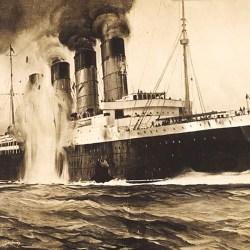 Le RMS Lusitania