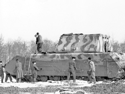 Panzer VIII Maus : La monstrueuse «souris» d'Hitler
