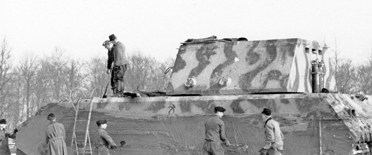 "Panzer VIII Maus : La monstrueuse ""souris"" d'Hitler"