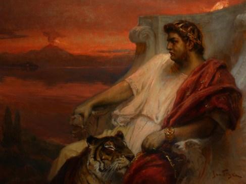 Néron au balcon, Rome au tison…