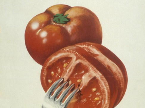Cortes, la tomate et la dinde