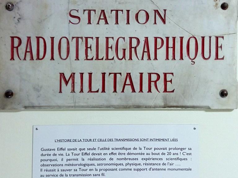 Le bunker oublié sous la tour Eiffel…