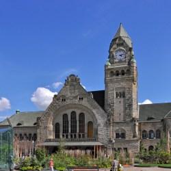 La gare de Metz fut conçue en cas de guerre contre la France