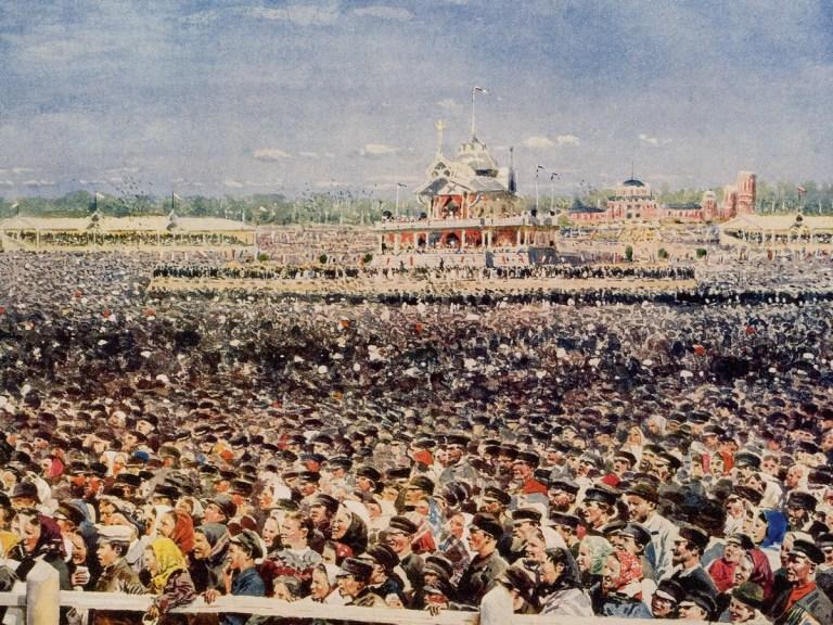 Des centaines de morts lors de la cérémonie de couronnement de Nicolas II