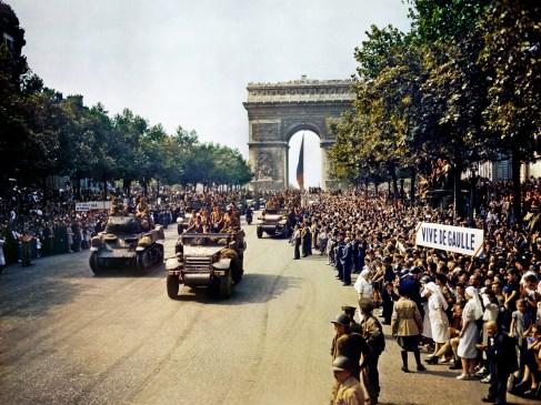 Le 24 août 1944, ce sont des Espagnols qui entrent dans le Paris libre !