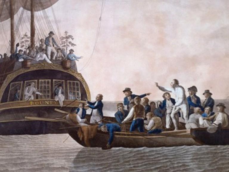 L'histoire des révoltés de la Bounty